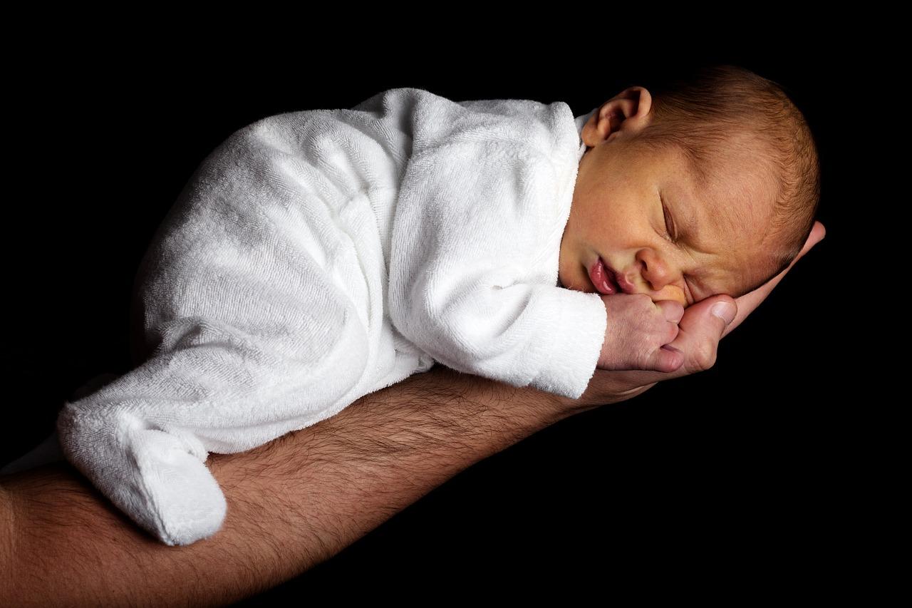 Husk at få taget billeder af din nyfødte baby