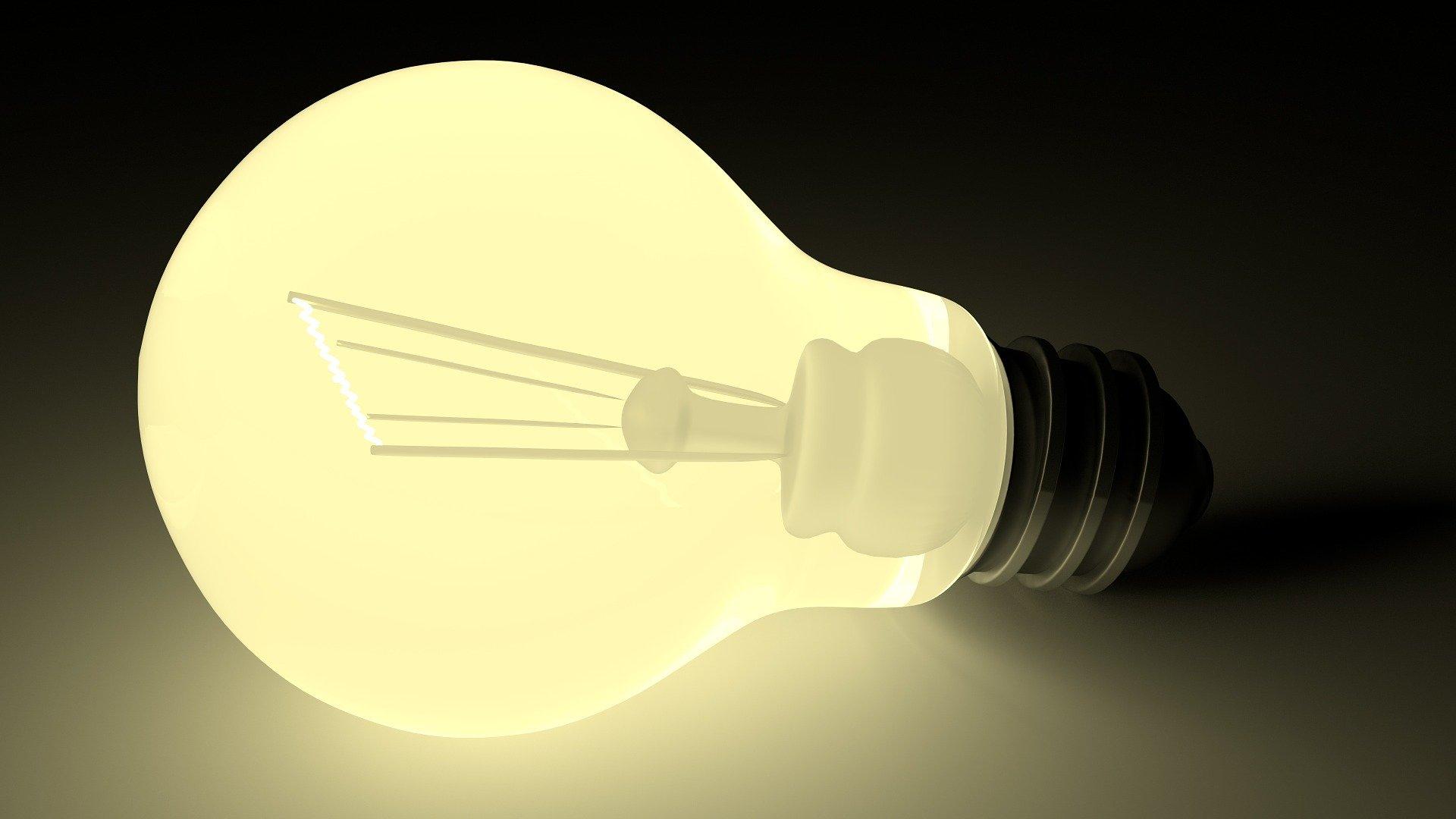 LED-lys er billigst i 2020