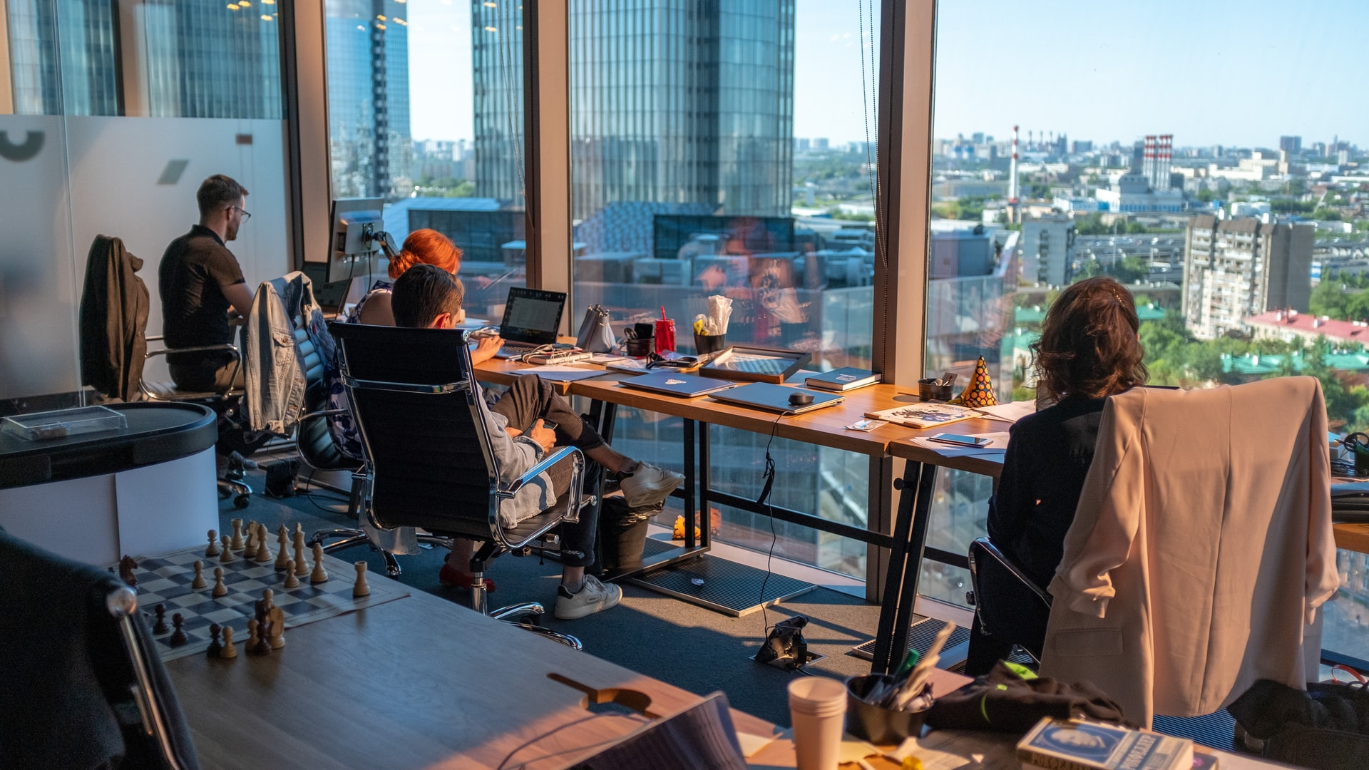 Sid ordentligt med en ny kontorstol