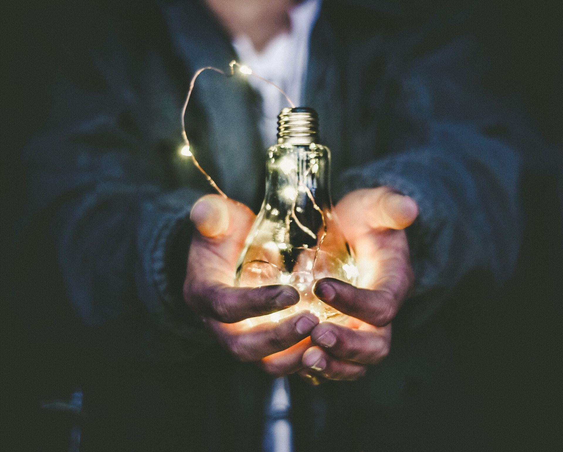 Sæt dine gode ideer ud i livet